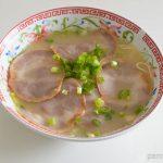 マルタイの長崎ちゃんぽん麺の調理後画像