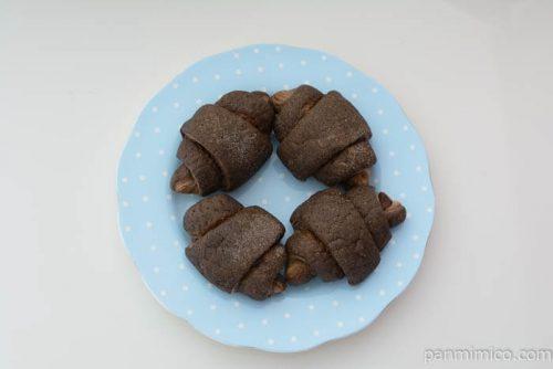 ヤマザキミニメロンクロワッサンチョコ皿盛り