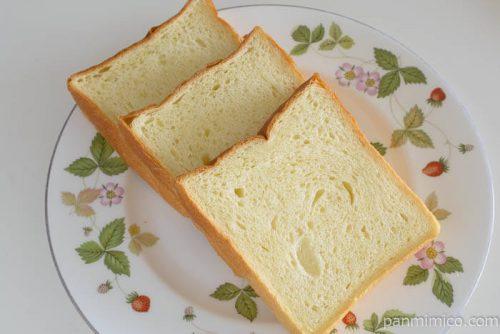 エスブーランジェリーセモリナ小麦おひさま食パン中身