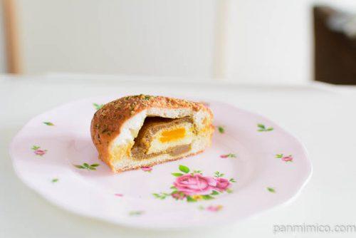 夢パン工房半熟卵のカレーパン中身