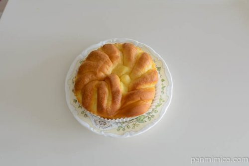 神戸屋しっとりケーキパン皿盛り