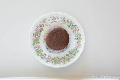 チョコパイプレミアムチーズケーキ皿盛り