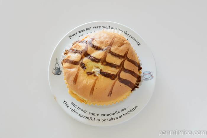 ヤマザキふんわりシフォンのパン皿盛り