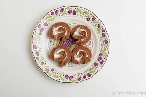 パスコティラミス風ロールケーキ皿盛り