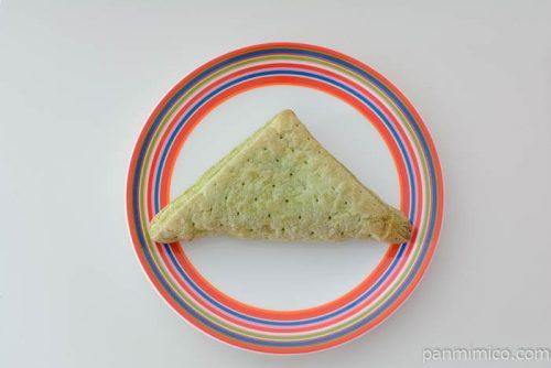ファミリーマート三角メロンパイ皿盛り