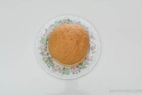 セブンイレブンキャラメルメロンパン皿盛り