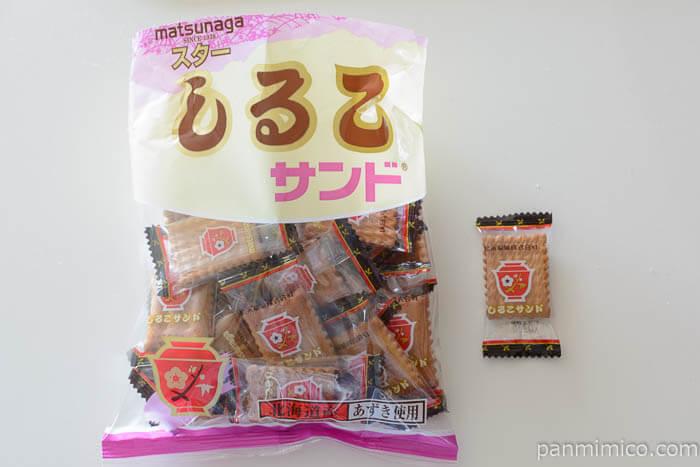 松永製菓スターしるこサンド