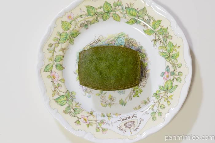 西条園抹茶バターサンド皿盛り