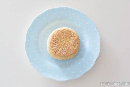 パスコ低糖質イングリッシュマフィンブラン皿盛り