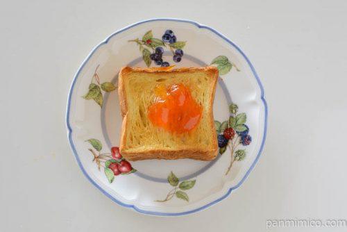 とみたメロンハウスメロンジャムトースト