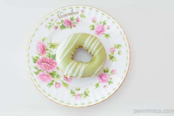 ファミマふんわりもっちドーナツ抹茶&粒あん皿盛り