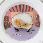 ファミマばくだんおむすび鶏唐揚甘酢ダレ中身