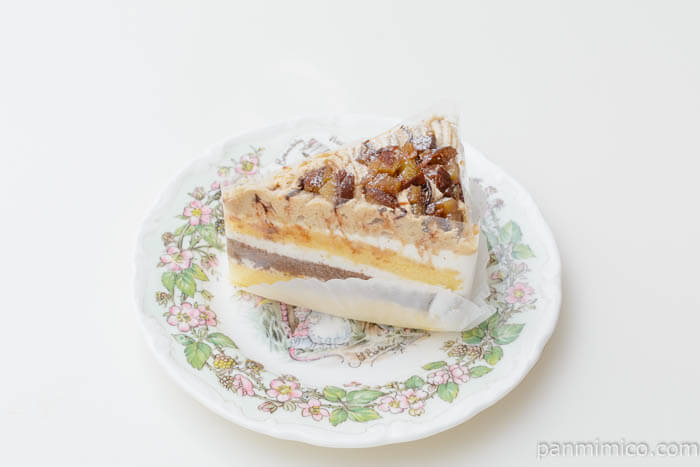 杉家モンブラン皿盛り