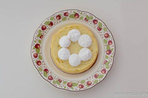 ローソン塩バターメロンパンホイップクリーム中身