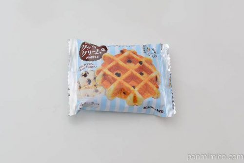 マネケンクッキーアンドクリームワッフル
