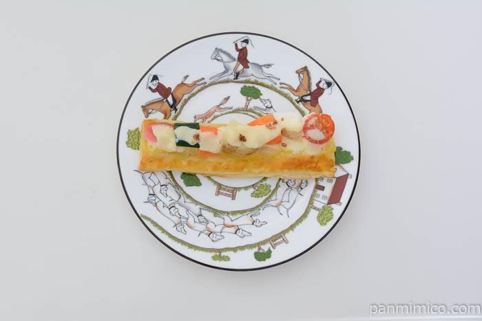 レギューム・ラ・セゾンラクレットチーズとお野菜のパイ皿盛り