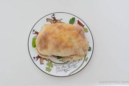 RIKIサンドイッチ皿盛り