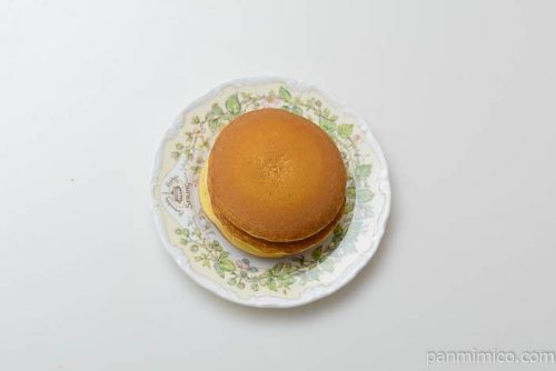 パスコホイップで食べるパンケーキ皿盛り