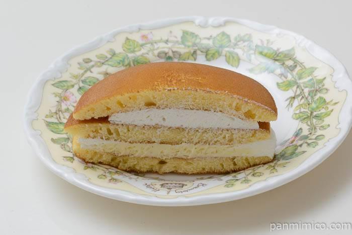 パスコホイップで食べるパンケーキ中身