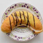 フジパンバナナのパン皿盛り