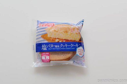 ヤマザキ塩バター風味クッキーケーキ