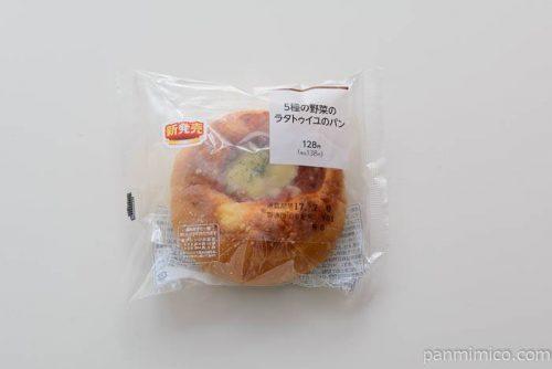 ファミマ5種の野菜のラタトゥイユのパン