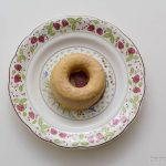 ローソンブランの焼きドーナツ(塩キャラメル)皿盛り