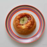 ファミマ5種の野菜のラタトゥイユのパン皿盛り