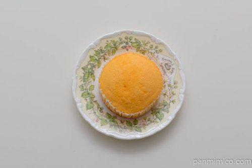 神戸屋夕張メロン蒸しケーキ皿盛り