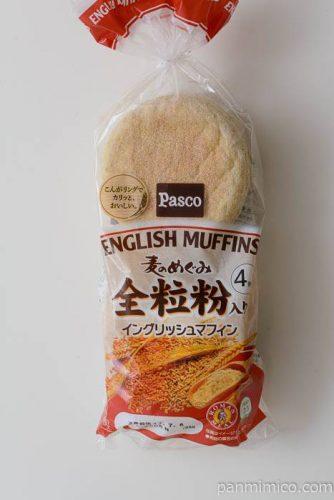 パスコ麦のめぐみ全粒粉イングリッシュマフィン