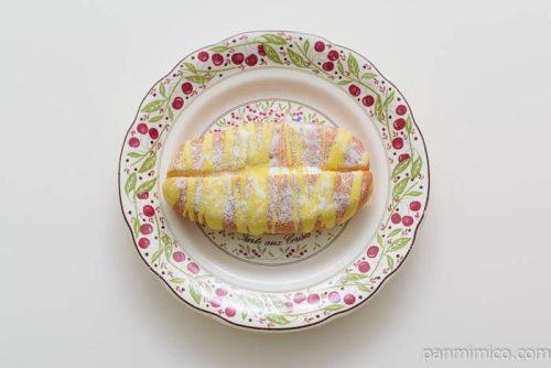 ヤマザキサンドドーナツレモンゼリー入りホイップ皿盛り
