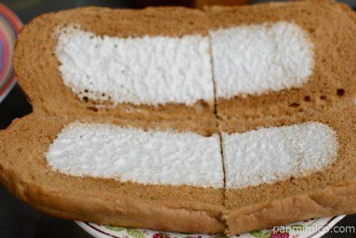 ヤマザキコッペパン黒糖ミルククリームオープン