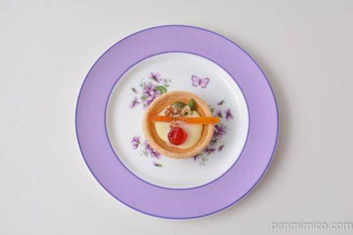 ファミマレモン風味のチーズタルト皿盛り