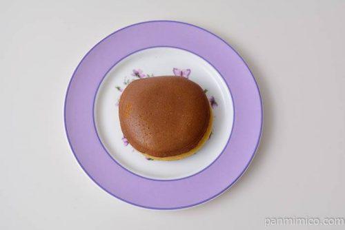 ファミマプレミアムどら焼き皿盛り