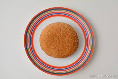 ファミマ欧風ビーフカレーパン皿盛り