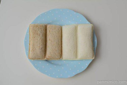 ヤマザキランチパック4種のおいしさ皿盛り