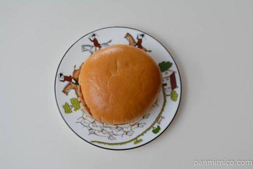 ヤマザキメンチカツバーガー皿盛り