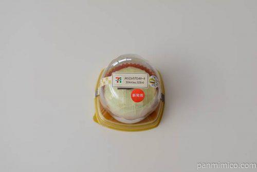 セブンイレブンメロンとミルクプリンのケーキ