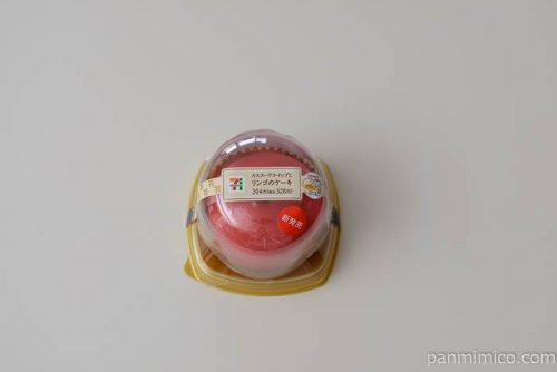 セブンイレブンカスタードホイップとリンゴのケーキ