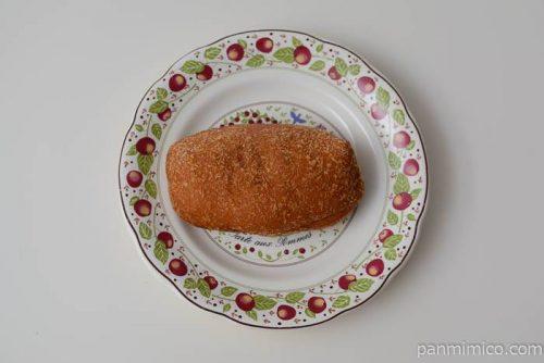 神戸屋ジューシーチキンのカレーパン皿盛り