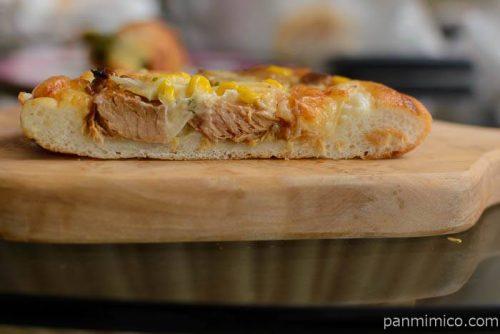 KOKORO豚の角煮ピザ中身