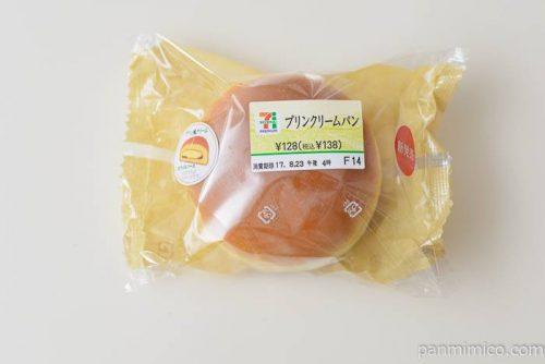 セブンイレブンプリンクリームパン