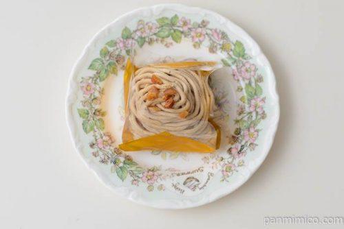 ファミマサクサクメレンゲのモンブラン皿盛り