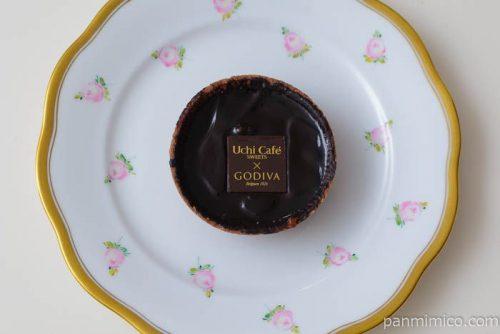 ローソンウチカフェスイーツ×ゴディバショコラタルト皿盛り
