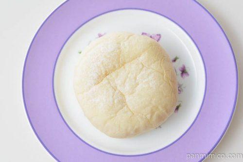 フジパン大福みたいなホイップあんぱん和栗皿盛り