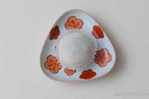ローソンナガノパープルの大福白あん皿盛り