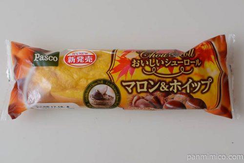 パスコおいしいシューロールマロン&ホイップ