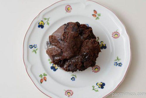 ヤマザキチョコづくしのチョコ蒸しパン皿盛り