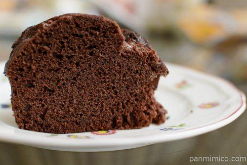 ヤマザキチョコづくしのチョコ蒸しパン中身