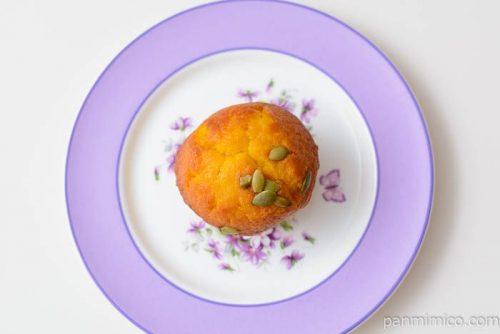 ローソンえびすかぼちゃマフィン皿盛り
